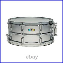 Ludwig Supralite Steel Snare Drum 13 x 6 in