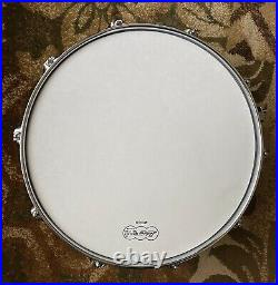 Ludwig black beauty snare drum 6 1/2 X 14