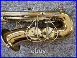 Martin Committee III The Martin Alto Saxophone Plays Well SN 182619 1953