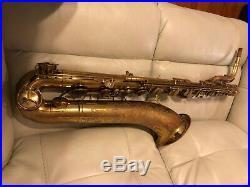 Martin Committee III baritone saxophone