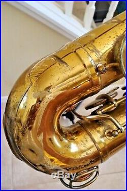 Martin Committee tenor saxophone