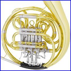 Mendini Double Bb/F French Horn High Qlty Intermediate