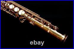 NEW 2020 Yamaha YSS-82Z 02 Custom Z Professional Soprano Saxophone BrassBarn