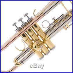 NEW ROSE BRASS PRO Bb Trumpet-Monel PistonGreat Sound