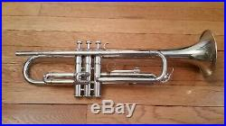 NICE Yamaha YTR-136 Silver Student Trumpet with Mouthpiece & Case US SELLER