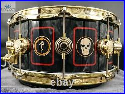Neil Peart R40 Tour #190/250 Dw Collector's Icon Hvlt Snare Drum