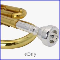 New 2018 Middle-high School Golden Brass Concert Band Trumpet