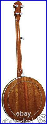 New MORGAN MONROE MNB-1W BANJO 5-String Mahogany Bluegrass Free Shipping