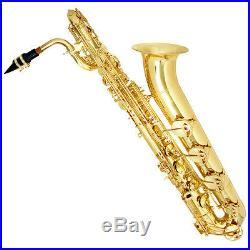 New Mendini Baritone Saxophone Bari Sax +case Sale