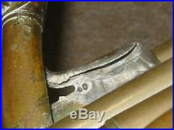 Nice old rotary Tuba heligon / Helicon in F  Cerveny w. Garland! 4valves