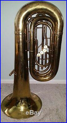 Olds 4 Valve 099-41 BBb Tuba, Pro Overhaul & Ready to Play, Great Horn