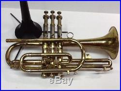 Olds Ambassador Cornet LA Model Straight Horn