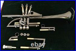 One of A Kind, Taylor Custom Shop / Black Nickel Darth Vader/ Hand Made Trumpet