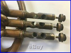 Original Charles Roth (strasbourg) 1844 1870 French Horn, 9 Crooks, Case