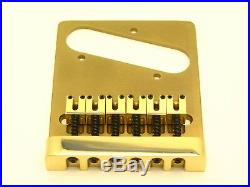 #P 1008B Fender Brass Telecaster Bridge Assembly Genuine Kahler NOS Parts