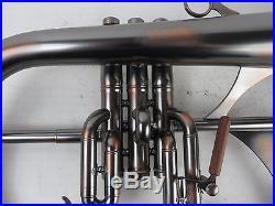 Phaeton 2800 Black and Copper Flugelhorn with Case flugel phtf 118458