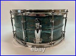 Pork Pie 13 X 7 Brass Relic Patina Snare Drum