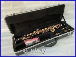 Professional Black Gold Soprano Straight Saxophone
