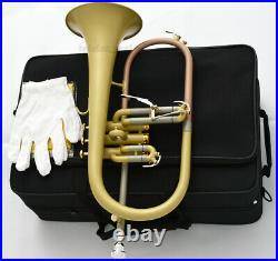 Professional NEW Bb Flugelhorn Satin Matt By WEIBSTER Musical quality FLUGEL
