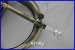 Professionl new Flugelhorn Antique Flugel Horn Monel Valve Bb key with Case