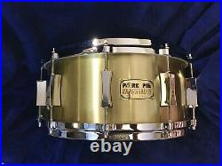 RARE FIND/ Pork Pie /3 mm /Cast Bell Brass /6.5 X 14 Snare. Only 30 ever made