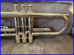 RARE Olds Fullerton Mendez Bb Trumpet. 460 Bore 4 3/4 Bell Lead Latin Salsa
