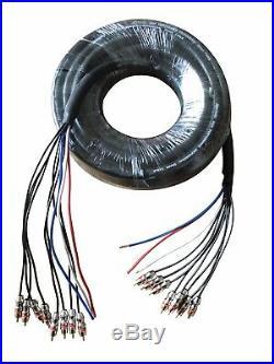 RDCARSHOW PROFESSIONAL MEDUSA 50ft 11 CHANNELS (audio cable)