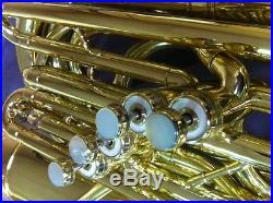 REYNOLDS SYMPHONY BBb BRASS BASS TUBA WithDETACHABLE UPRIGHT BELL! 4 Velv