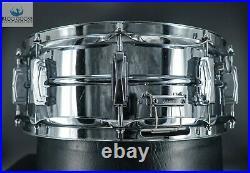 Rare Artist Drum Vintage 1970 Cut Badge Cob Ludwig Super 400 Snare Drum