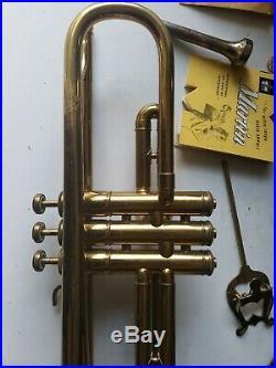 Rare Vintage Martin Trumpet Serial 48340 Elkhart Indiana mouthpiece conn 4
