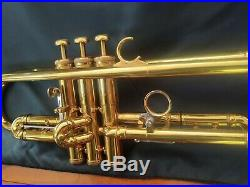 Really Nice 1962 Olds Fullerton Made Mendez Professional Trumpet with Bach Case