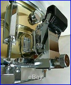 SD-416 Japan Yamaha brass seamless snare Yamaha die casts, spotless brass
