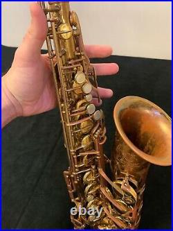 SELMER MARK VI Alto Saxophone sn#106, xxx (YEAR 1963), rare Low A key