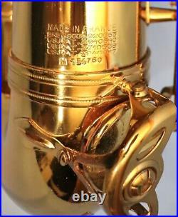 SELMER MARK VI TENOR SAXOPHONE #154760. Lacquer is 90% original. 1968 Beauty