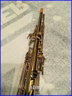 SML FRANCE Soprano Saxophone King Marigaux SML MPC + Case - PRICE DROP