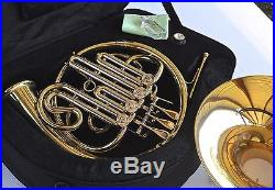 STERLING Bb SWFH-700 Single FRENCH HORN Pro Brand New Backpack Case