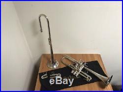 Schilke E3L Eb & D Silver Plated Trumpet