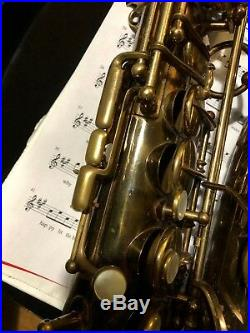Selmer Balanced Action BA Alto Saxophone #23,181, Plays Great