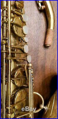 Selmer Balanced Action Tenor Sax 1938