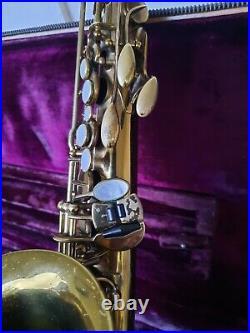 Selmer Balanced Action alto saxophone sax 1948