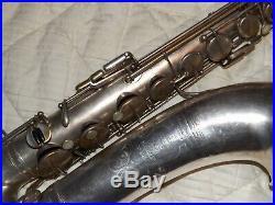 Selmer Modele 22 Tenor Saxophone #31XX, 1925, Silver Plated, Nice, Plays Great