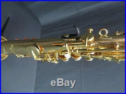Selmer PSS600 Bb Soprano Saxophone in Lacquer, Mint Condition with Tags