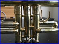 Selmer Paris C Trumpet 703 Raw Brass