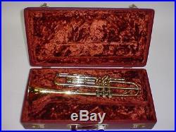 Selmer Sterling Super Modular Bb, B & A Trumpet Vintage 1950's