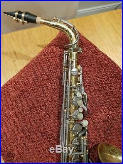 Selmer Super Balanced Action (SBA) Alto Saxophone 1953 Original Lacquer