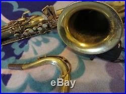 Selmer paris super action 80 series I tenor saxophone mark VII neck great player