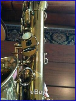 Selmer super balanced action sba saxophone
