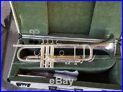 Silver Kanstul Besson Meha Trumpet