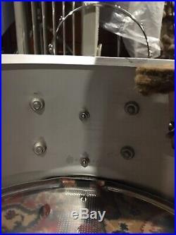 Slingerland Buddy Rich Snare Drum 10-lug Vintage 70s TDR 6.5 x 14 COB Brass #193