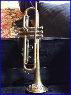 Spectacular 1932 New York Bach Stradivarius Bb Trumpet